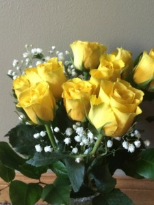 Yellow Roses, my favorite
